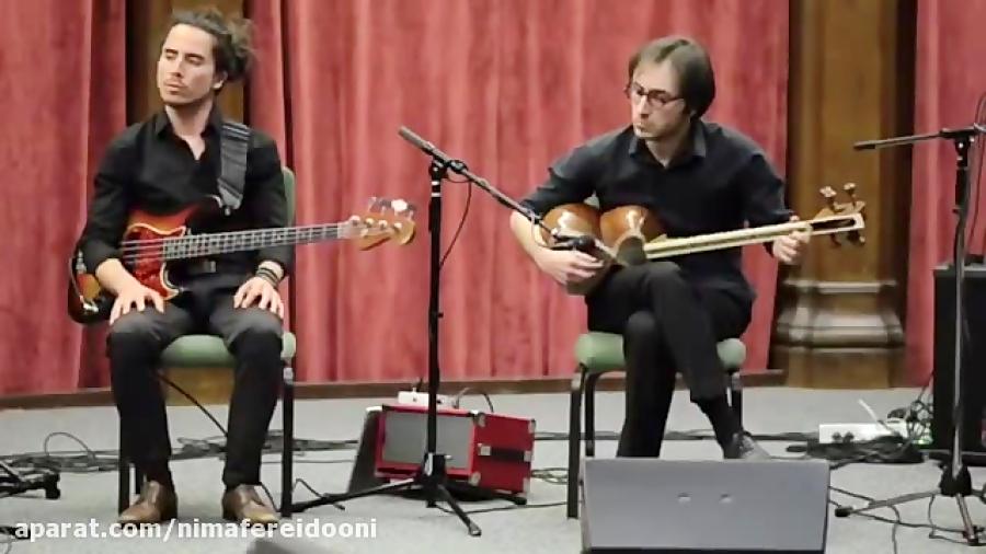 امیر بیات و بهفر بهادوران دو نوازى تار كنسرت اِكومرز در شهر اُكلند كالیفرنیا ٢٠١٥