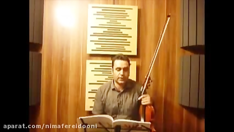 فیلم Chorus from judas Maccabaeus  آموزش ویولن کتاب سوزوکی ایمان ملکی