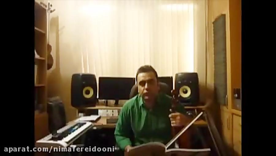 فیلم آموزش ویولن Key Sera گلچین آهنگ ها ایمان ملکی