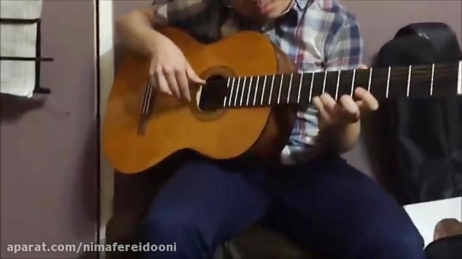 سینا رحیمی آشتیانی،هنرجوی گیتار دوره متوسطه فرزین نیازخانی،آموزشگاه موسیقی فریدونی اردیبهشت95.mp4 HD