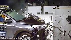 تست تصادف هیوندای توسان ۲۰۱۶