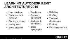 InfiniteSkills – Learning Autodesk Revit Architecture 2