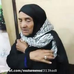 فیلمی تکان دهنده از یک مادر شهید