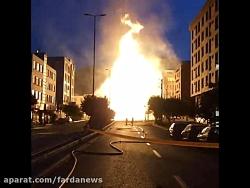 آتش سوزی مهیب در شهران