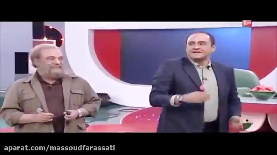 تصویر از گفتگوی رامبد جوان با مسعود فراستی در برنامه خندوانه