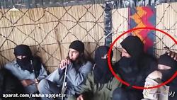 زنی در میان جمع داعشیان