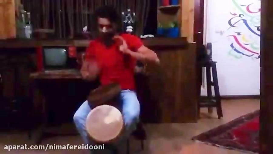 حسین صالحی نوازنده و مدرس دف و سازهای کوبه ای