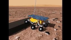 شبیه سازی ربات مریخ نور...