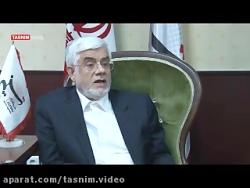 حضور محمدرضا عارف در خب...