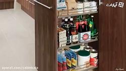 ایده های جالب در طراحی کابینت آشپزخانه