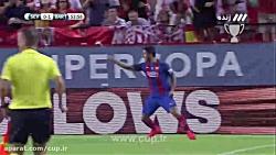 گل لوئیس سوارز؛ سویا ( 0 ) - بارسلونا ( 1 )