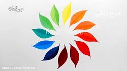یک چرخه رنگی برای رسیدن به رنگ مورد نظر