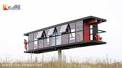 معماری مدرن و مفهومی؛ خانه ای معلق در آسمان