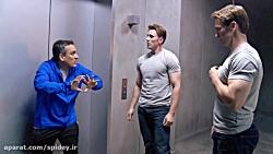 پشت صحنه فیلم کاپیتان آمریکا - پارت 3