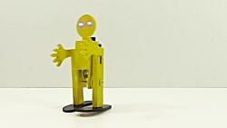 یادگیری ساختنی علمی ساده:ساخت ربات راه رونده ساده