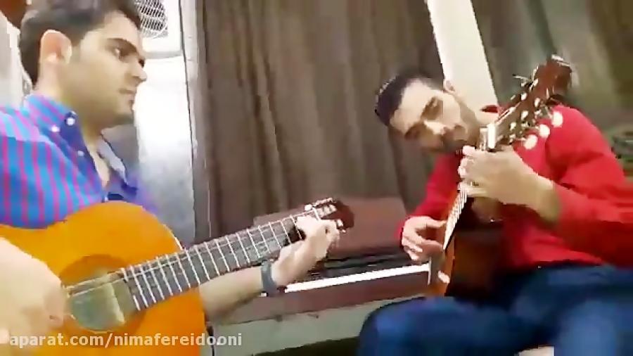 محمدهادی موحدی habla me از gipsy Kings هنرجوی ابتدایی گیتار فرزین نیازخانی