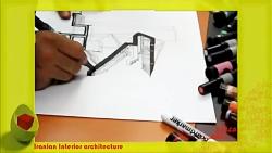 Sketch Training - آموزش راندو یک طرح معماری