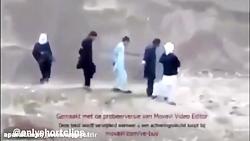 فرار از اعدام و تیرباران - تروریست داعش