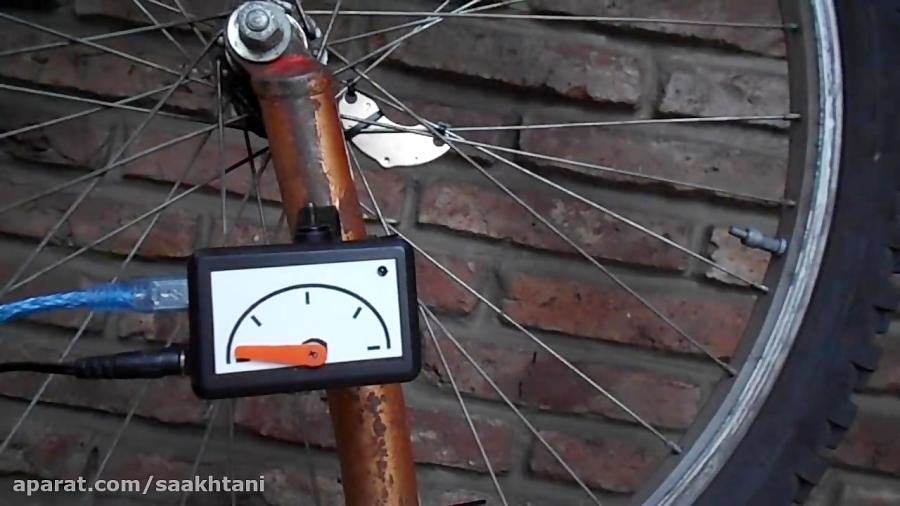 برای دوچرخه تان سرعت سنج آنالوگ بسازید