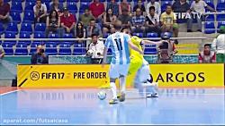 خلاصه بازی دو تیم اوکراین و آرژانتین(یک هشتم نهایی)