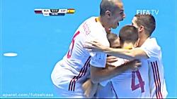 خلاصه بازی جذاب و زیبای اسپانیا و روسیه(یک چهارم نهایی)