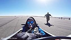 برخورد هواپیما با یک خلبان در مسابقه