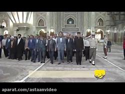 تجدید میثاق آتش نشانان سازمان آتش نشانی تهران