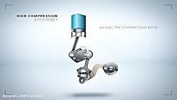 ضریب کمپرس متغیر در موتور جدید اینفینیتی