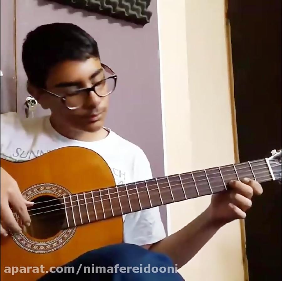 محمدحسین نیکنژاد Pharaon  Gipsy Kings هنرجوی گیتار فرزین نیازخانی