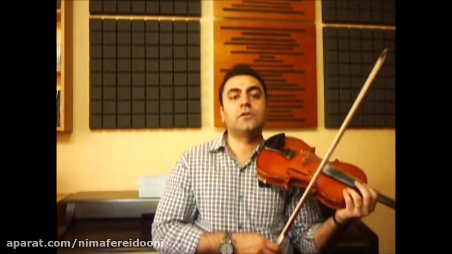 فیلم آموزش گوشه ی عشاق ۱ بیات اصفهان ویولن ردیف ابوالحسن صبا جلد ۱ ایمان ملکی