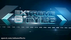 دانلود پروژه افترافکت EXTREME STYLE