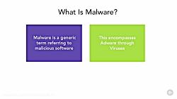 دانلود آموزش امنیت سایبری - آشنایی با Malware ها و جلوگ