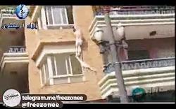فرار مردی که به زن متاهل تجاوز کرده از پنجره اتاق خواب