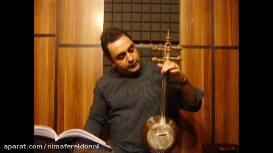 فیلم آموزش تمرین انگشت گذاری روی سیم ۴ کمانچه کتاب اول هنرستان روح الله خالقی ایمان ملکی