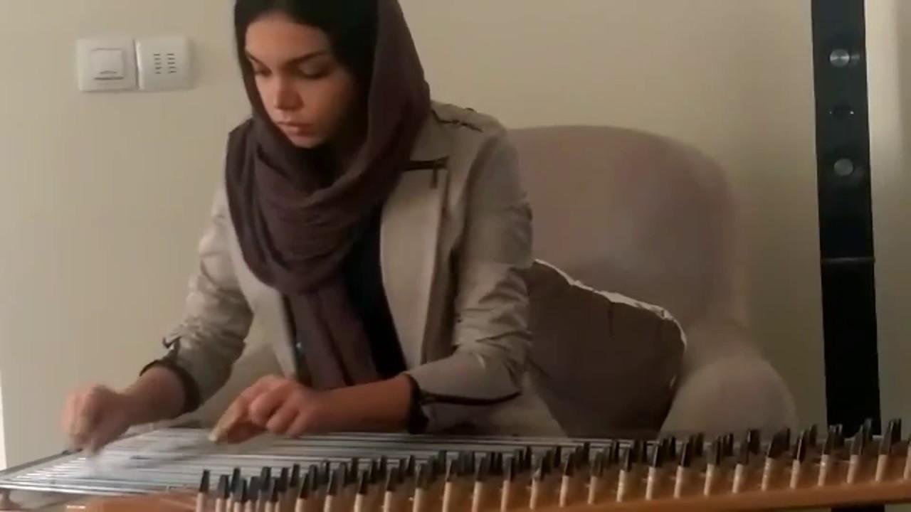 سحر رشیدی مدرس ساز قانون . آموزشگاه موسیقی فریدونی.mov