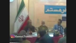 ایستادگی مسعودفراستی در مقابل انصار حزب الله