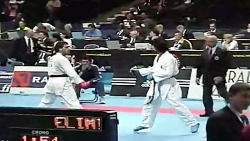 WKF Karate 2006 Modami Vishkaei Round 4 Ta...
