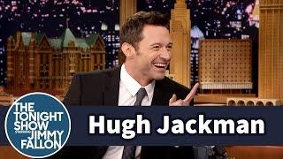 مصاحبه جیمی فالون با Hugh...