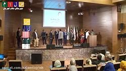 اهداءجوایز نفرات برتر جشنواره شوراهادبیرستان سلام تجریش