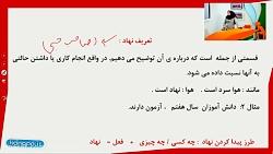 فیلم آموزشی درس چهارم فارسی هفتم - نهاد