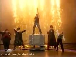 اجرای زنده کریس انجل در امرکین گات تلنت