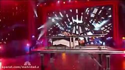 اجرای زنده دیوید کاپرفیلد در امرکین گات تلنت