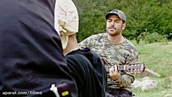 آواز محمدرضا گلزار در پشت صحنه سریال عاشقانه
