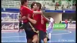 ایران 3 _3 اسپانیا ، جام جهانی 2008 برزیل