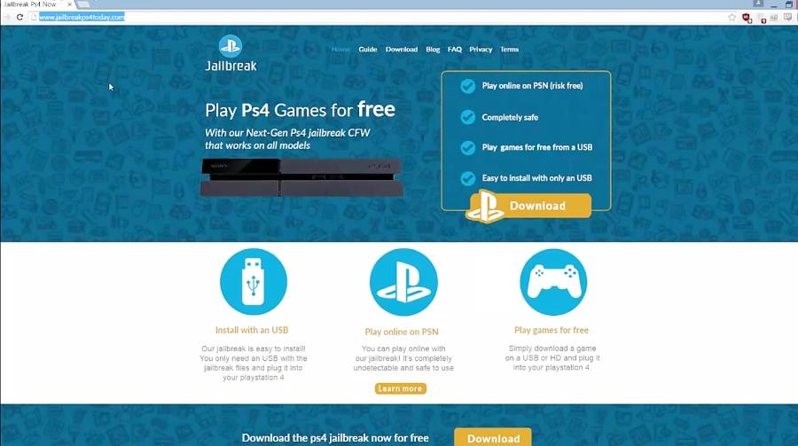 How Jailbreak PS4 With an USB - NO SURVEY + proof MEGA LINK