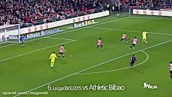 100 گل لوئیس سوارز برای بارسلونا