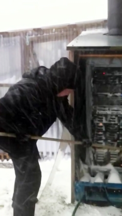 How Clean Computer Servers - (In Finland)