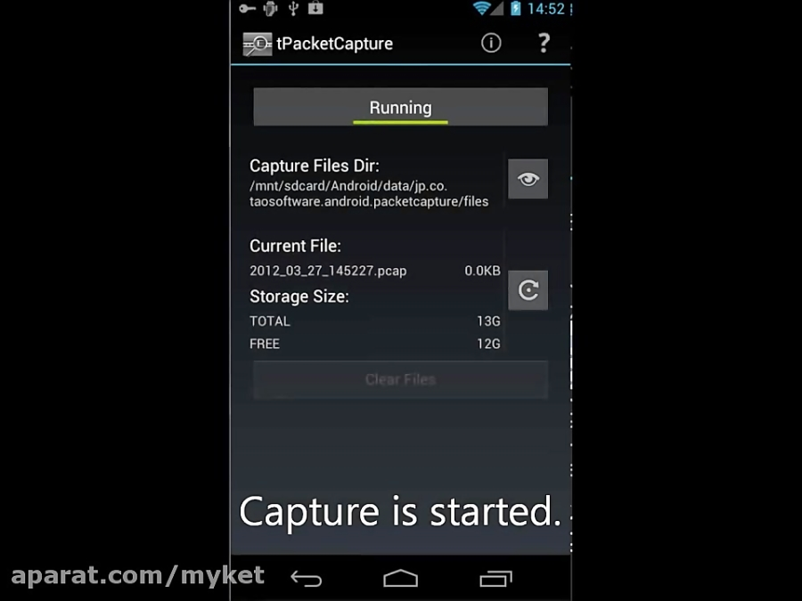 How to use tPacketCapture (for Android 4 0)