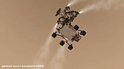 Amazing Movie of Mars Curiosity  HD