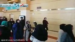 فیلم  عوامل فیلم «خانه دیگری» روی فرش قرمز جشنواره فجر